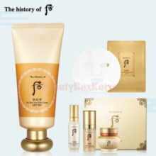 THE HISTORY OF WHOO Gong Jin Hyang Moisture Sun Cream Set 5items [Monthly Limited - March 2018]